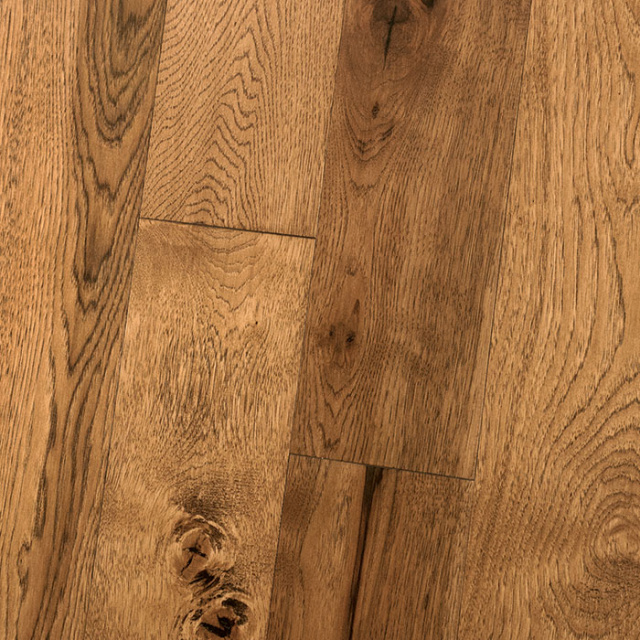 "Homerwood Simplicity 1/2""/3mm x 6"" Hickory Character Umber"