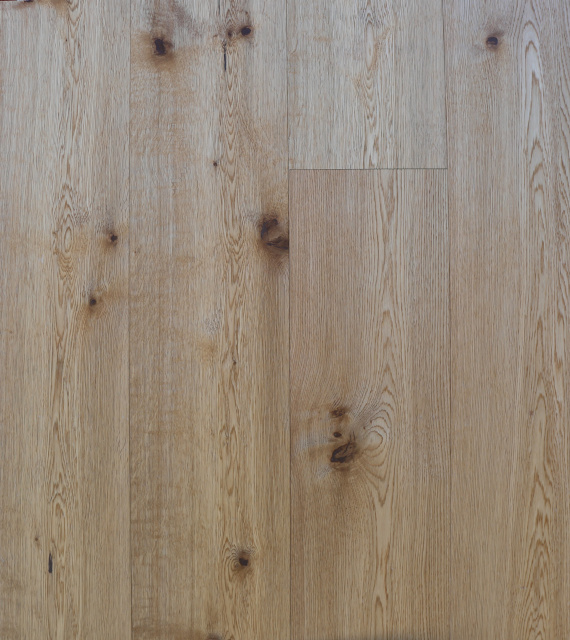 "Oak Rustic Brushed Natural Lacquer 7.484""x74"""