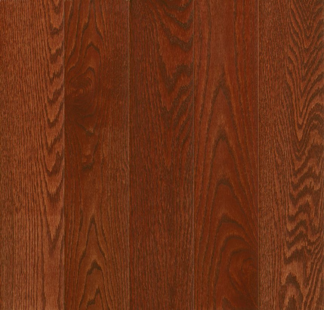 "Prime Harvest Oak 5""x3/4"" Berry Stained"