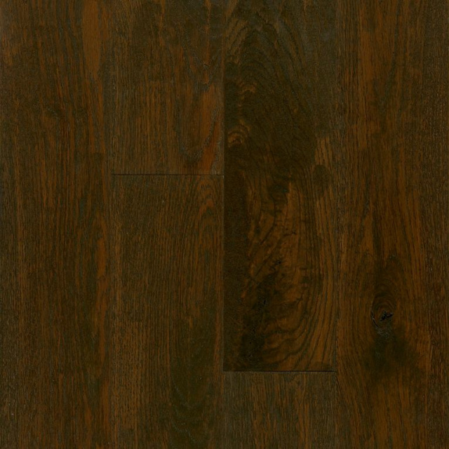 "American Scrape Solid Oak 5""x3/4"", Brown Bear"