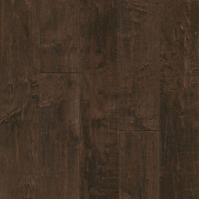 "American Scrape Solid Maple 5""x3/4"", Brown Ale"
